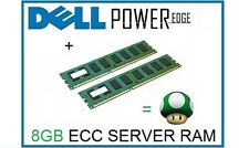 8GB (2x4GB) Memory Ram Upgrade for Dell Poweredge M605, M805 and T300 Servers