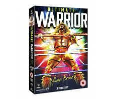 "Official WWE - Ultimate Warrior ""Always Believe"" (3 Disc Set) DVD"