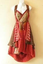 """M659 Reversible Vintage Silk Magic 30"""" Length Wrap Skirt Halter Tube Dress + DVD"""