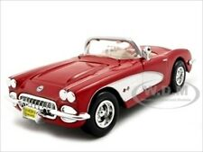 1959 CHEVROLET CORVETTE RED 1:24 DIECAST MODEL CAR BY MOTORMAX 73216