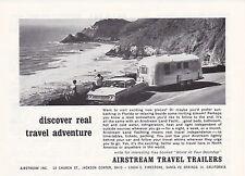 1966 AIRSTREAM TRAVEL TRAILER  ~  CLASSIC ORIGINAL SMALLER PRINT AD