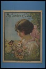 305055 My Garden Of Love Copyright 1919 A4 Photo Print