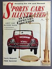 1956 Sports Car Illustrated Magazine Vol.2 #1, July 1956 RARE!! Awesome L@@K