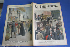 Le petit journal 1902 604 survivants martinique + chasse aux phoques