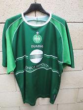 VINTAGE Maillot SAINT-ETIENNE DUARIG training shirt collection ASSE les Verts L