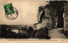 CPA Cubzac-les-Ponts-Entrée du Cháteau des Quatre-Fils Aymon et le Pont (176688)