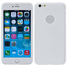 Shockproof Full body Protective PC Front +Back+ Glass Case For iPhone 6 6 Plus