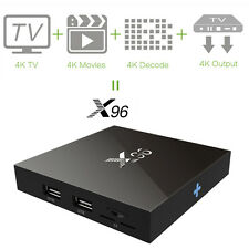 X96 4K2K H.265 Smart TV BOX Android Quad Core WiFi 8GB Mini PC Multi Language HD