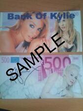 Kylie Minogue Novedad 500 Euro Banco Note Billetes De Cumpleaños, Regalo De Navidad