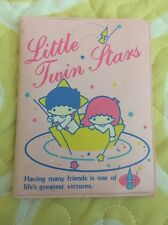 SANRIO VINTAGE RARE LITTLE TWIN STARS WALLET FROM JAPAN 1976-1983