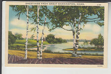 Greetings from Great Barrington MA Mass S-391