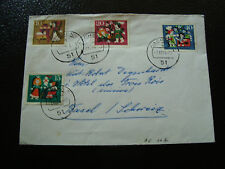 ALLEMAGNE RFA - enveloppe 7/10/1964 (cy14)  germany