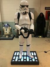 Life Size Star Wars Stormtrooper with Blaster