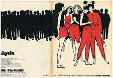 Publicité Advertising 1963 (2 pages) Vetements Lisette Parienté par René Gruau