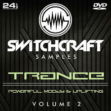 Trance VOL 2-Studio de 24bit wav / échantillons de production musicale-DVD