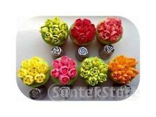 7pcs/Set Russian Rose Tulip Icing Piping Nozzle Cake Decoration Tip Tool