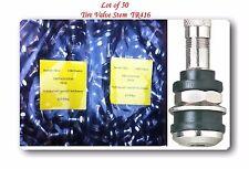 "50 KITS TR416 TIRE VALVE STEMS FITS: .453"" & .625"" RIM VALVE HOLES LONG 1 1/2"""