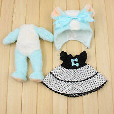 """New Arrival! 3PCS 12"""" Blythe Doll Factory  Blythe's Clothes Little Bear Outfit"""
