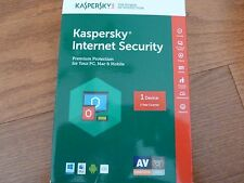 Kaspersky Internet Security Premium Protection for PC, Mac, Mobile 1 device/1yr