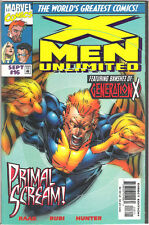 X-MEN UNLIMITED #16 COMIC BANSHEE EMMA FROST BASTION