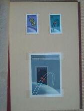 Polen 1962 / Kat. Fischer Nr. 1202 – 1203 + Block Nr. 26  Postfrisch / MNH (**)