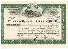 Oklahoma City Juction Railway Company  1934