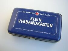 VINTAGE CAR FIRST AID SET BOX VOLKSWAGEN VW BUG BEETLE COX BUS ACCESSORY
