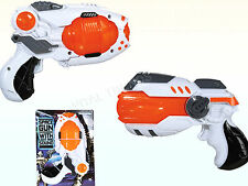 Kids Space Gun LED Light up  Laser Sound Toy Play Flashing Pistol Boys Gift