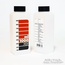 Jobo Wide Neck 1 Litre Bottle ~ White for CPE2, CPA and Autolabs etc ~ Brand New