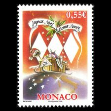 Monaco 2008 - Christmas and New Year - Sc 2518 MNH