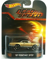 HOT WHEELS NEED FOR SPEED 1967 PONTIAC GTO CAR (MHWBDT77)