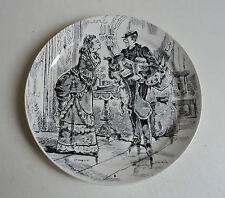Ancienne Jolie Assiette Creil et Montereau,Paris Assiégé,légende au dos