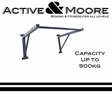 MORGAN PULL UP RACK CHIN UP BAR STRENGTH WALL MOUNTED CROSSFIT 900KG MAX