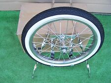 SPARE TIRE  KIT TWISTED WITH WHEEL/TIRE  BIKE  BMX LOWRIDER NEW