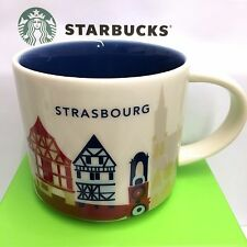 Starbucks You Are Here City STRASBOURG Collection Serie YAH, 14oz new Mug FRANCE