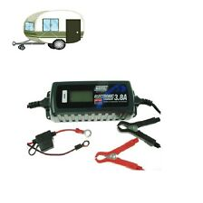 MAYPOLE CARAVAN BATTERY CHARGER 3.8A 12V AUTO ELECTRONIC MP7423