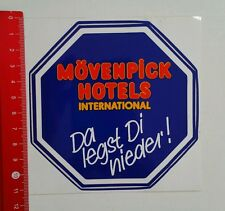 Aufkleber/Sticker: Mövenpick Hotels International (25051639)