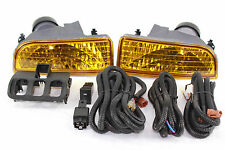 97-01 Honda Prelude BB Type SH OE JDM Yellow Fog Light Kit + Harness + Switch