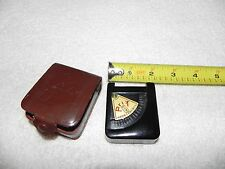 Very Rare Prix Light Exposure Meter w/Original Case Made in Germany