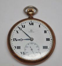 Antique 1915 Omega Gold Filled Pocket Watch, 17 Jewels, 2 Adjustments, 4979469