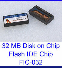 DISK ON CHIP 32 MB 32MB FLASH DISK PIONEERS DOC FESTPLATTE FIC-032 FIC-32 FIC32