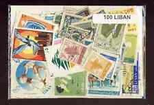 Liban - Lebanon 100 timbres différents