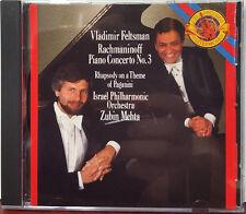 Feltsman / Mehta - Rachmaninoff: Piano Concerto No 3 (1989 CD Album)