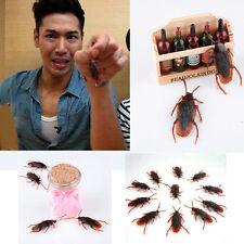 10PCS Prank Funny Trick Joke Special Lifelike Model Fakes Cockroach Roach Toy