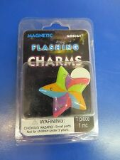 Rainbow Star Multicolor Birthday Party Favor Brooch Pin Magnetic Flashing Charm