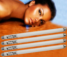 4 NEW PURE SUN 15 WATT FACIAL SOLARIUM UV TANNING LAMPS FOR PHILIPS SUNBEDS ETC
