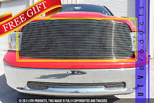 GTG, 2009 - 2012 DODGE RAM 1500 1pc CHROME UPPER REPLACEMENT BILLET GRILLE