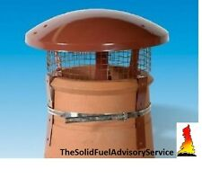 Rain Top Bird Guard Chimney Pot Solid Fuel Coal Fire Stove Gas Rain Colt Cowl