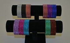 Indian Ethnic Bangles - Set of 132 pcs - Assorted Colors - $11.99/set