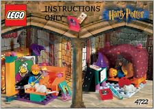 (Instruction Manual) For LEGO 4722 - HARRY POTTER - GRYFFINDOR - Manual Only
